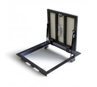 Напольный люк Портал 60х60 - с газовыми амортизаторами (h=110мм)