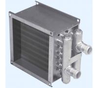 Водяной канальный нагреватель WHС 150х150-2