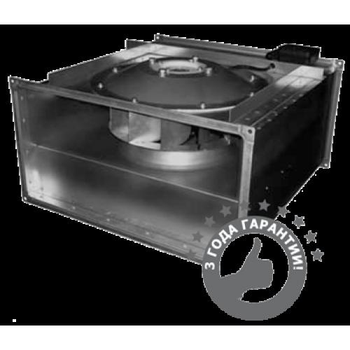 Вентилятор канальный прямоугольный с назад загнутыми лопатками ВКПН 100-50-4D