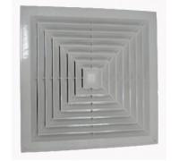 Решётка потолочная диффузорного типа 600х600