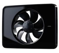 Вентилятор накладной FRESH Intellivent Black (черный)