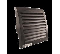 Вентилятор ММ 100 квадратный (черный)