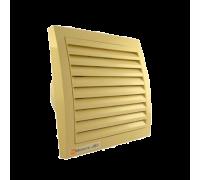 Вентилятор ММ 100 квадратный (кремовый)