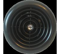 Вентилятор ММ 100 круглый (черный)