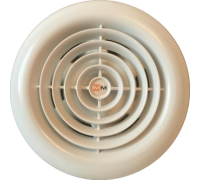 Вентилятор ММ 100 круглый (белый)