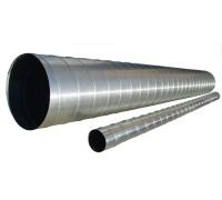 Воздуховод спирально-навивной ф 100мм L=3м (оц. ст. 0,4)